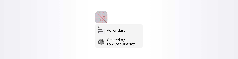 ActionsList