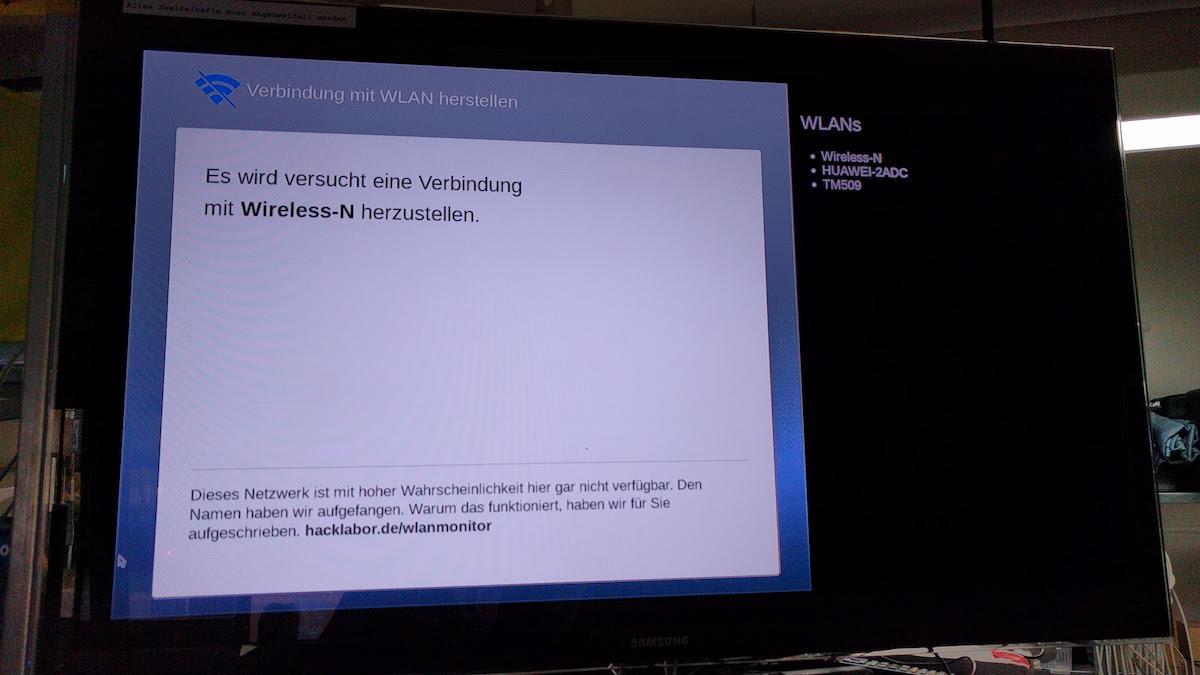 WLAN Monitor NDW18